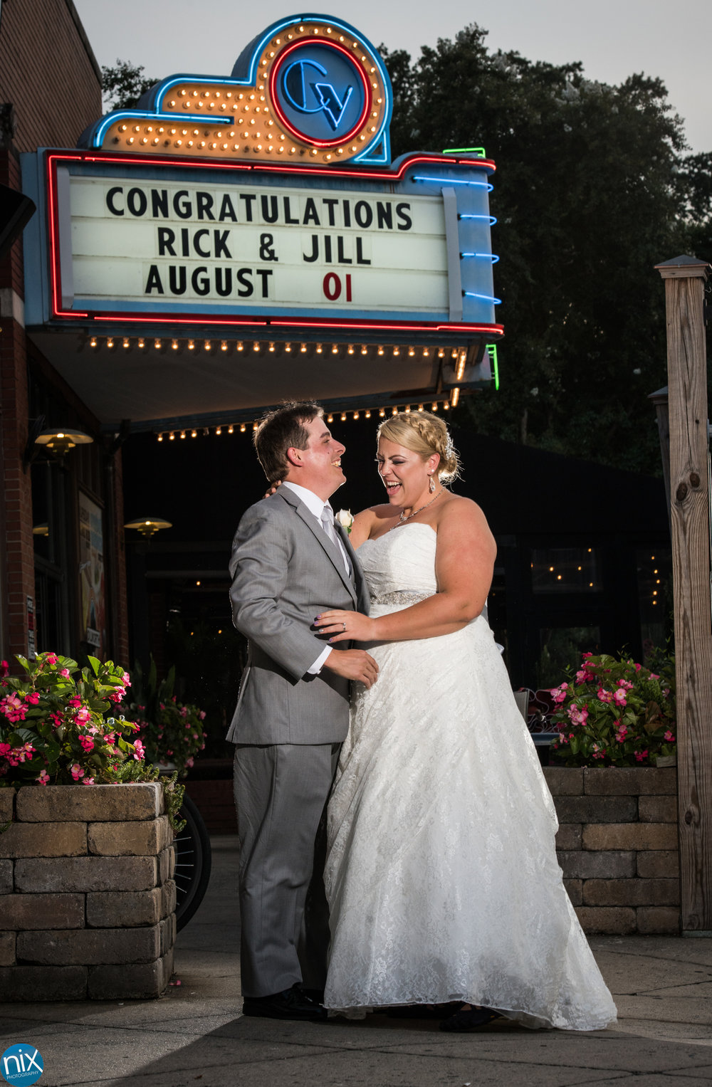 big chill congratulations marquee wedding.jpg