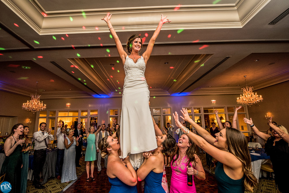 bride cheerleader dance floor.jpg