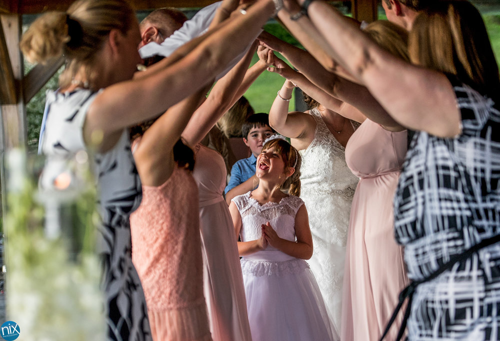 flowergirl dances during wedding reception.jpg