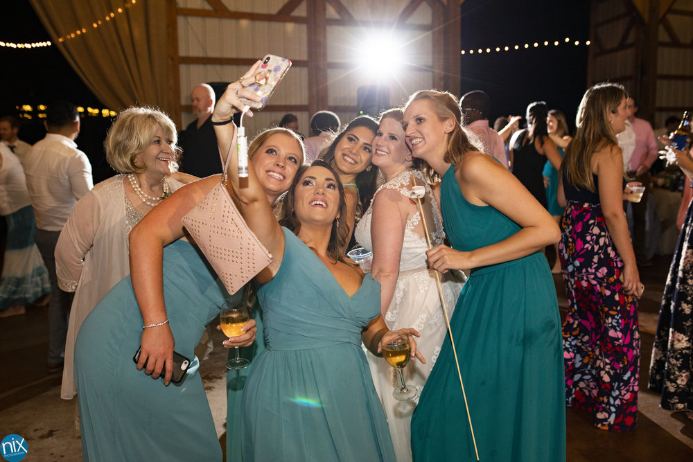Farm at Brusharbor bridesmaids selfie.jpg