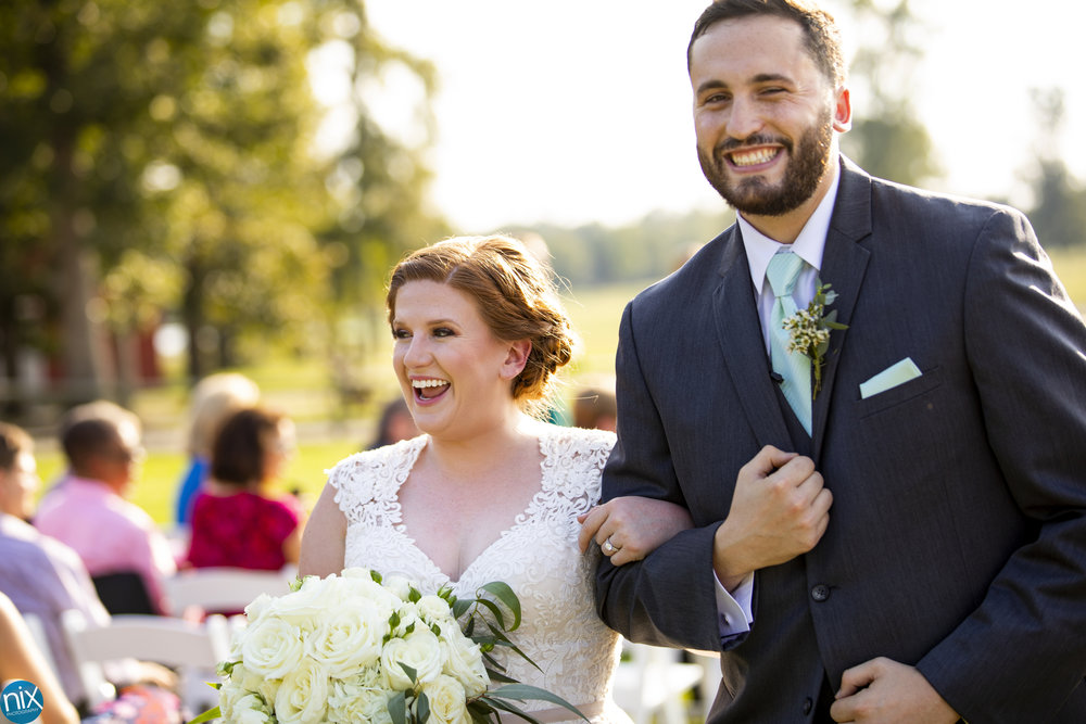 Farm at Brusharbor happy bride and groom.jpg