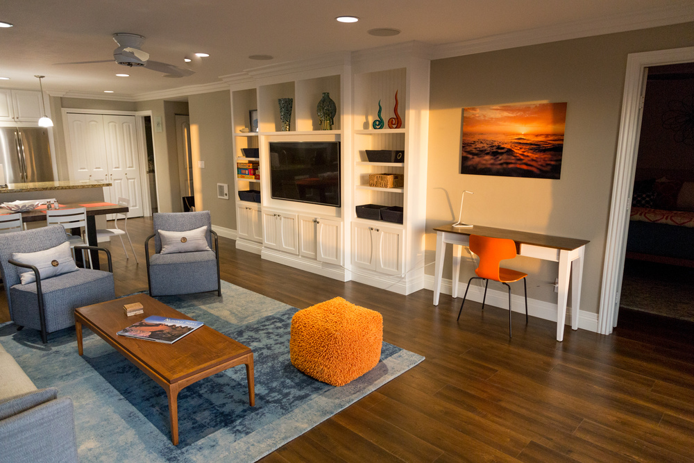 Fun family room