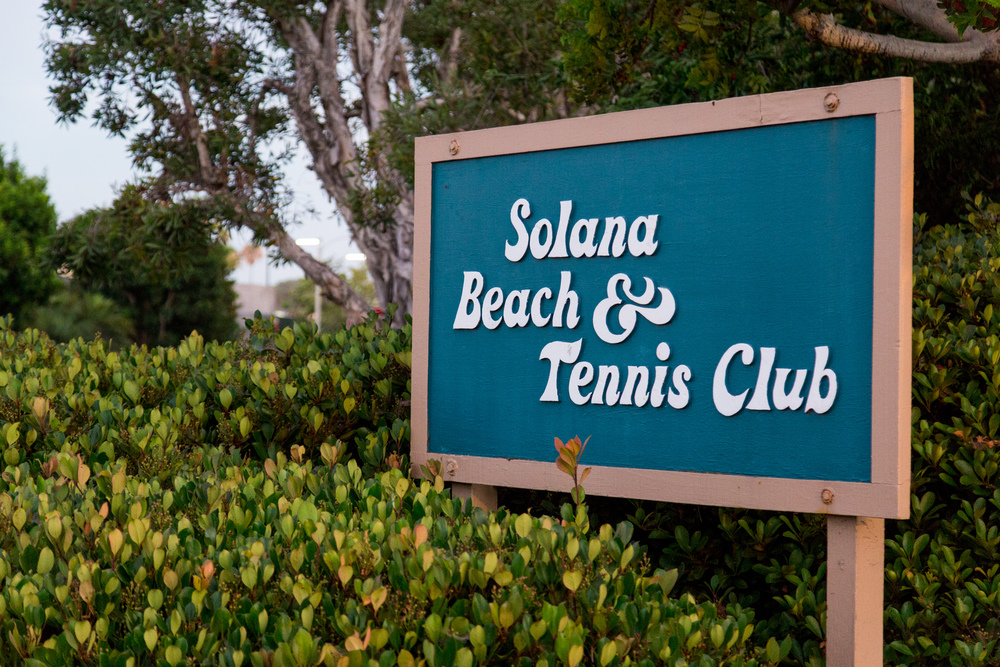 Solana Beach and Tennis Club!