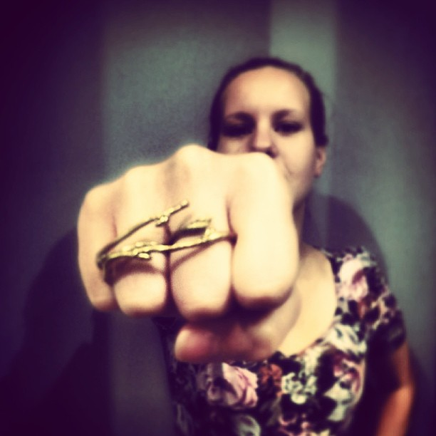 BJÖRK two finger ring 695 SEK. Reinsta from #johannanfavorit and @amelicka.