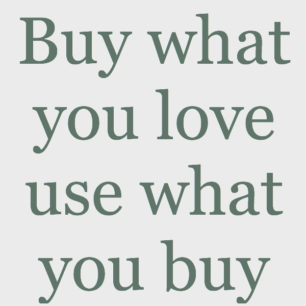 BuyWhatYouLove