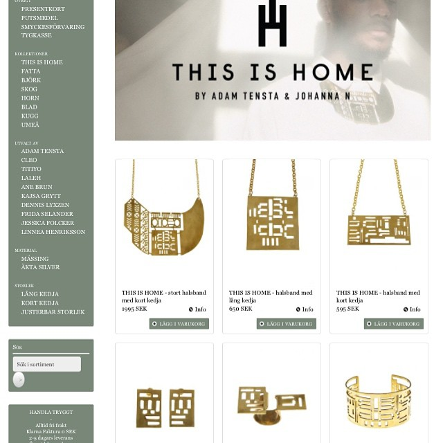 This is Home - now available at www.johanna-n.com. CHECK IT OUT! And Sthlm - see you at tonight's release party!