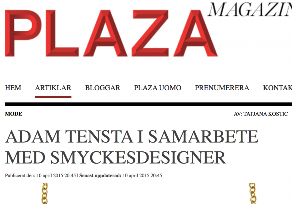 Plaza magazine this is home