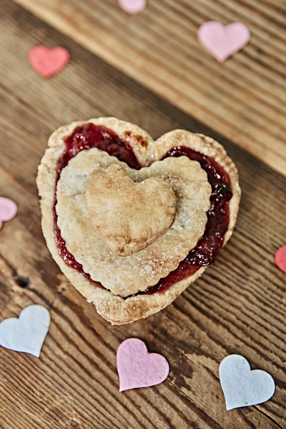 Heart Shaped Tiny Pie