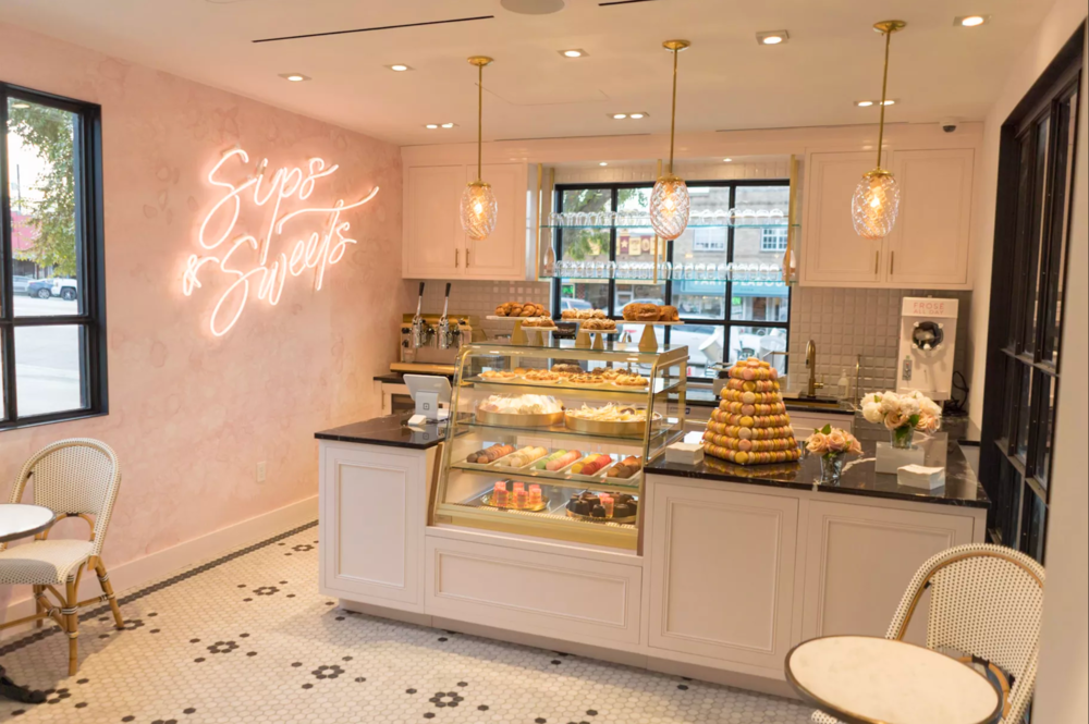 A look inside the cafe at the Kendra Scott flagship store at 1701 South Congress Avenue in Austin. Image by Kendra Scott (Official).