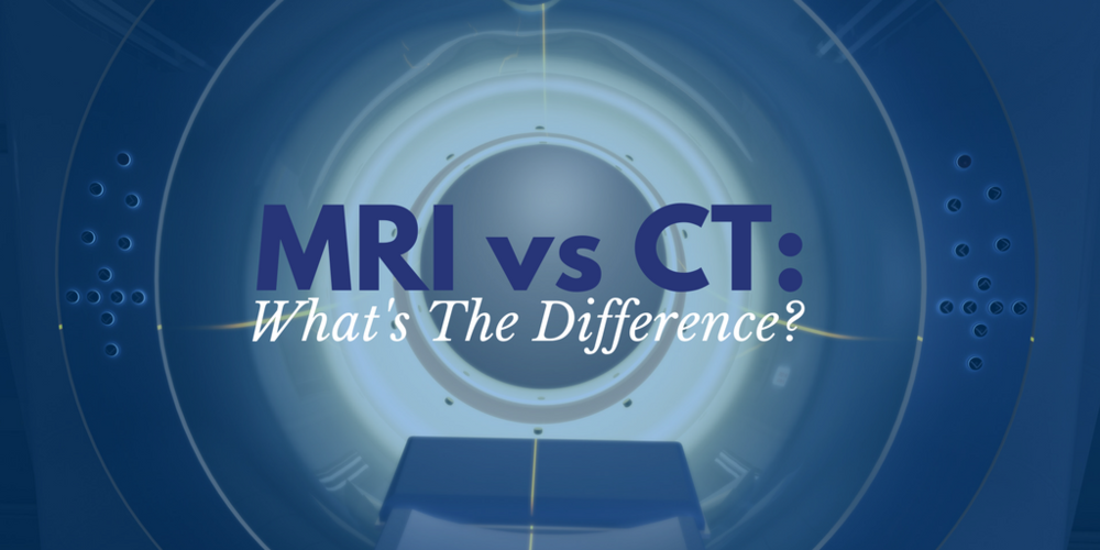 Difference between MRI and CT, MRI vs CT