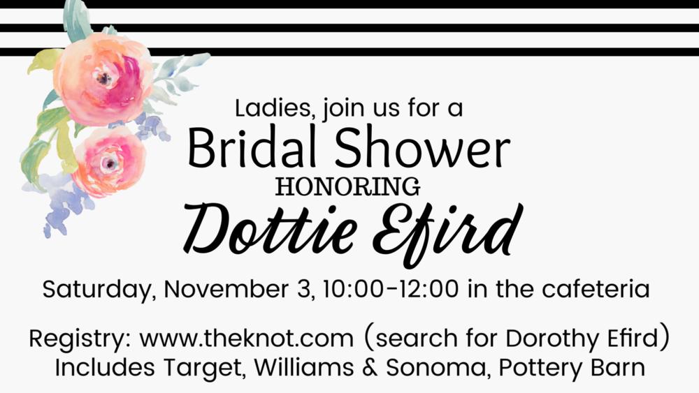 Dorothy Efird shower.png
