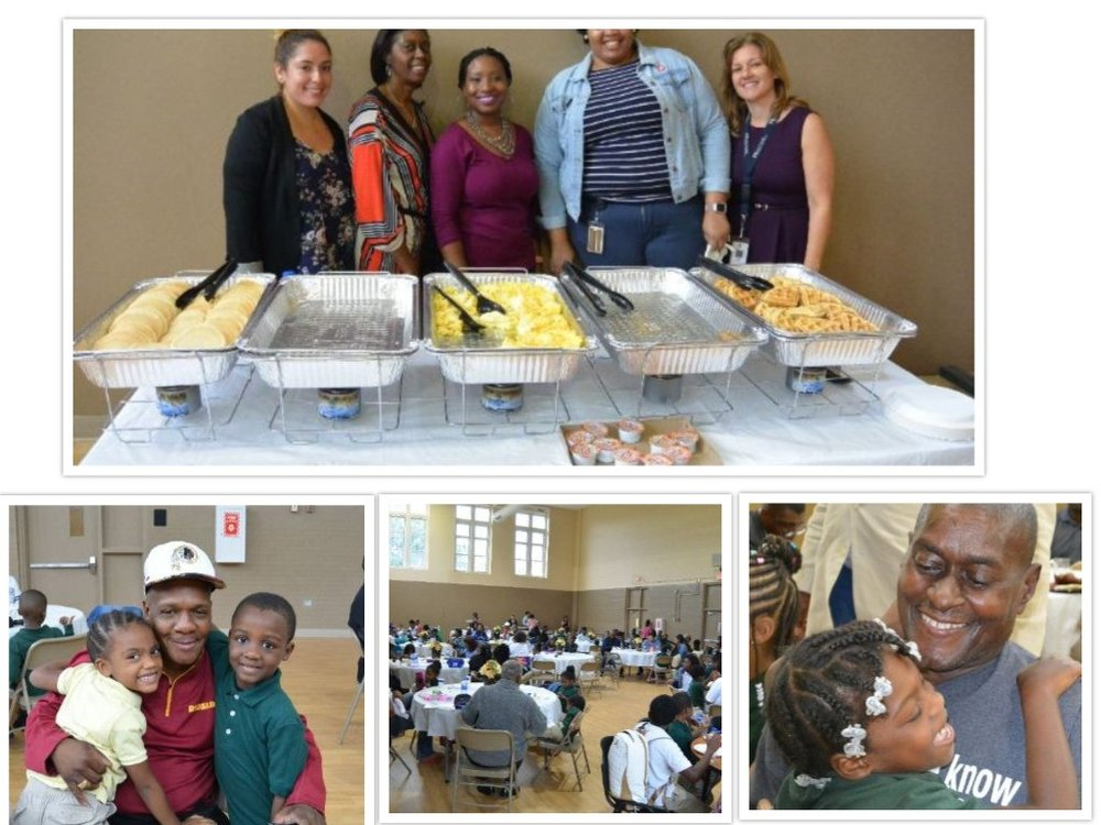 Adopt-a-School partners Browne Education Campus and DCPS Office of Federal Programs and Grants during Grandparents Breakfast.