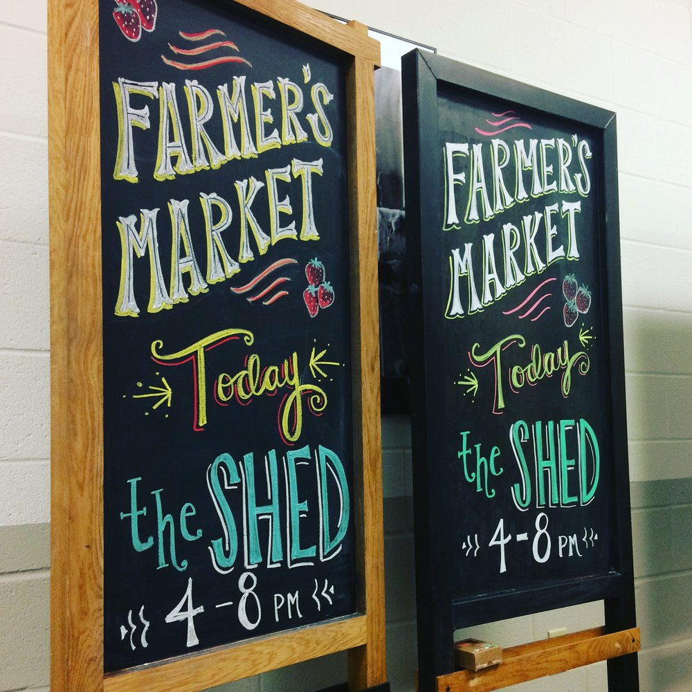 Farmer's Market at the Shed, Ponce City Market