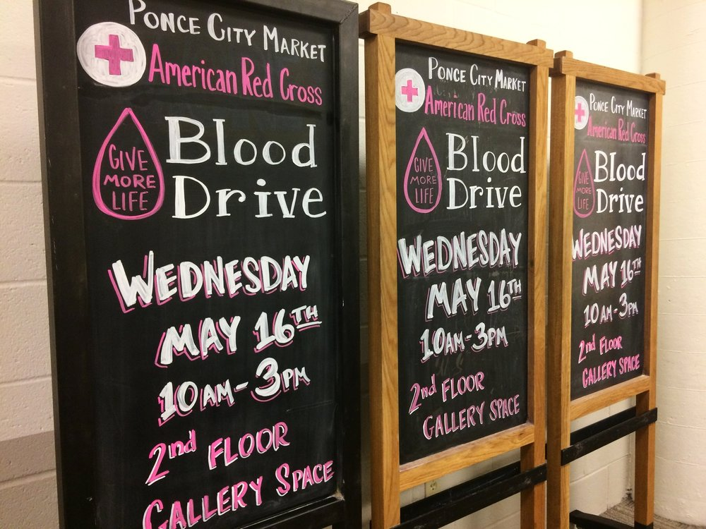 American Red Cross Blood Drive at Ponce City Market