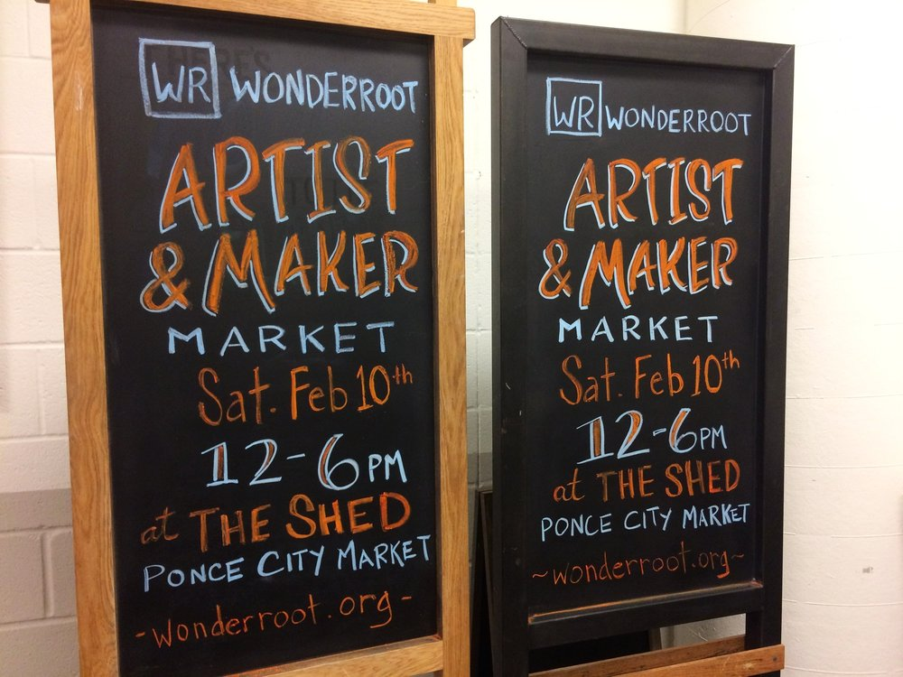 Wonderroot Artist & Maker Market at Ponce City Market