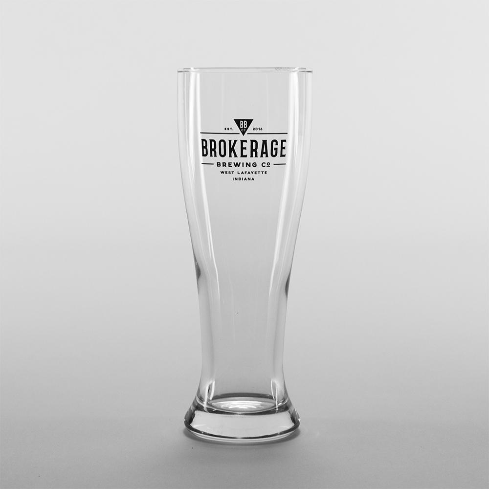 Pilsner Glass: $4