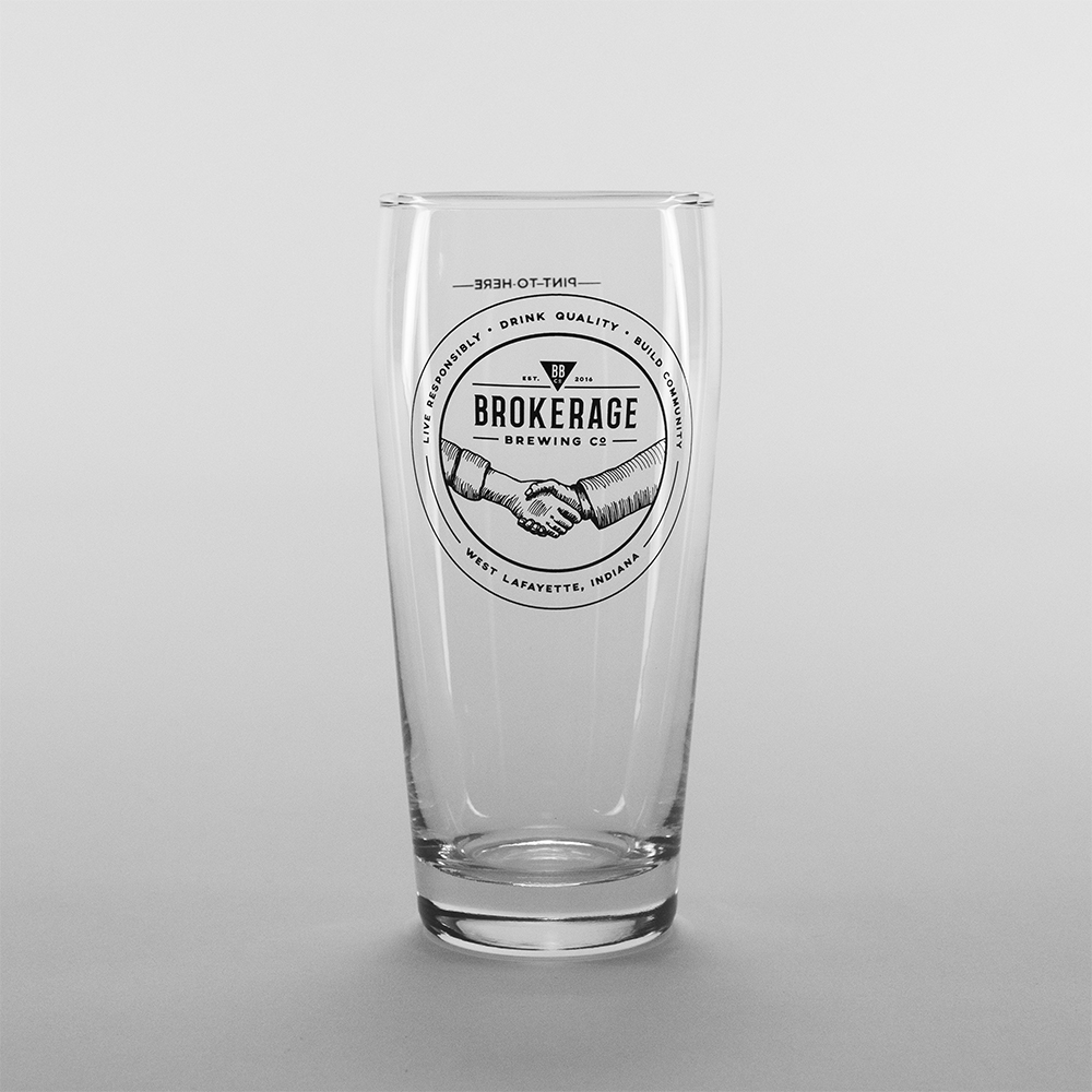 Pint Glass: $4