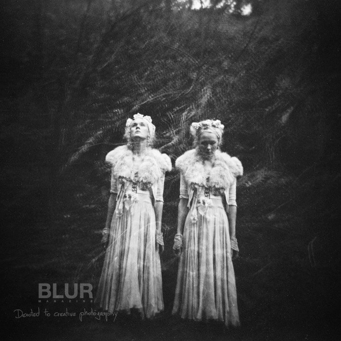 Holga image blur magazine