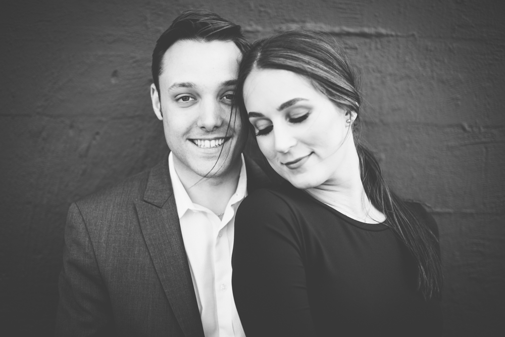 SAM & JORDAN  // ENGAGEMENT SHOOT AT PRETTIMEN'S GENERAL
