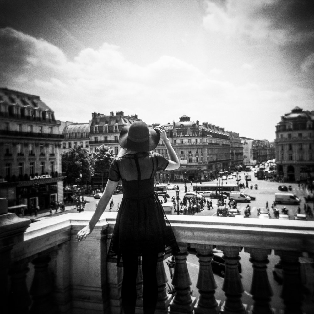 PARIS 2009 & 2015  // Holga