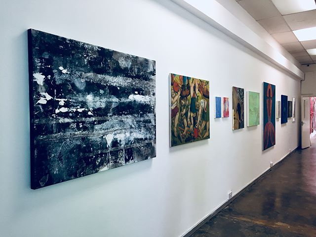 Very pleased to see 3 of my Identity pieces nicely hung at the @tconceptspace 's Summer Exhibition. The entrance is anchored by Identity IV: Migration and Identity V: 1987. Thank you to all who came to the PV this eve to show your support. Exhibition runs until Sept 1, 7 Spa Road, Bermondsey.  #abstractexpressionism #acrylic #ink #canvas #paper #art #artist #londonart #kvduongart #fineart #gallery #hotelart #artfair #contemporaryart #modernart #painting #abstract #calligraphy #artcan #bristolart #cliftonfineart #tcsSummerExhibition @clifton_fine_art @michaelgoedhuisgallery