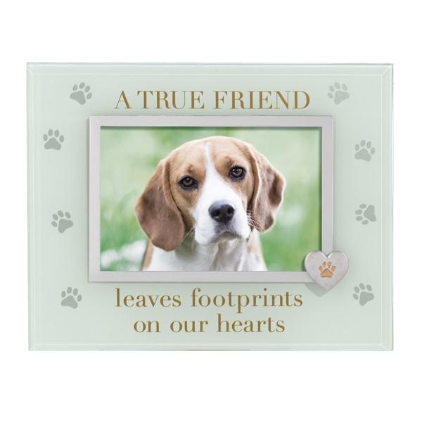 """Memorial Pet """"A True Friend"""" Frame"""