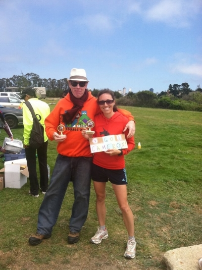 I ended up winning a 6-hour race, unexpectedly, in San Francisco, July 2012.