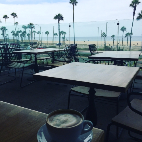 Working at a coffee shop one morning in Huntington Beach. Feeling immense amount of gratitude. I think I visited more coffee shops and drank more coffee in 2016 than ever before.