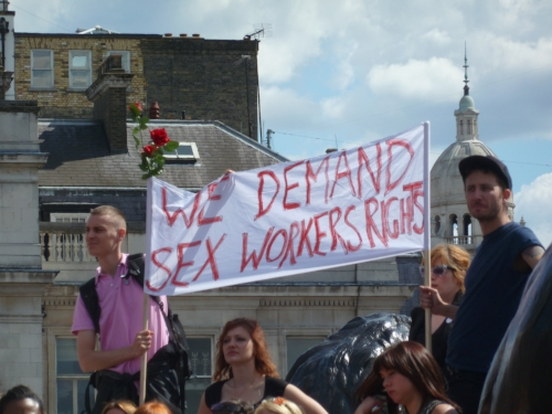 Photo from London Slutwalk: https://upload.wikimedia.org/wikipedia/commons/d/d3/Sex_Worker_Rights_-_London_SlutWalk_2011.jpg