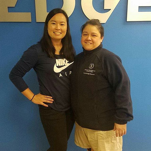 Congratulations to our client Denise for completing her EDGE Journey. We will miss her!  @dr.chisako