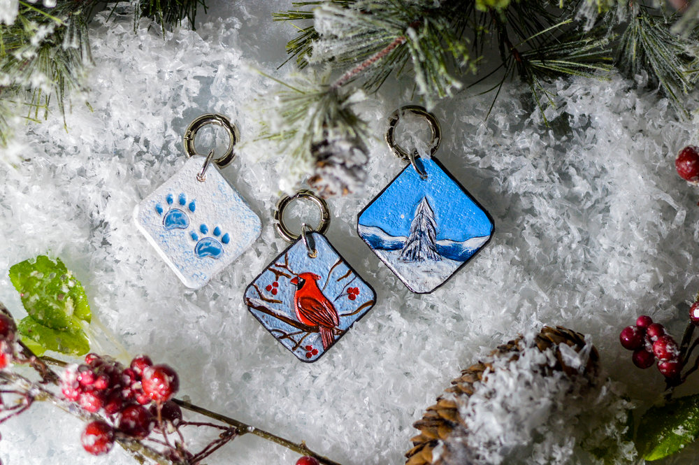 Winter Charms - $10 each