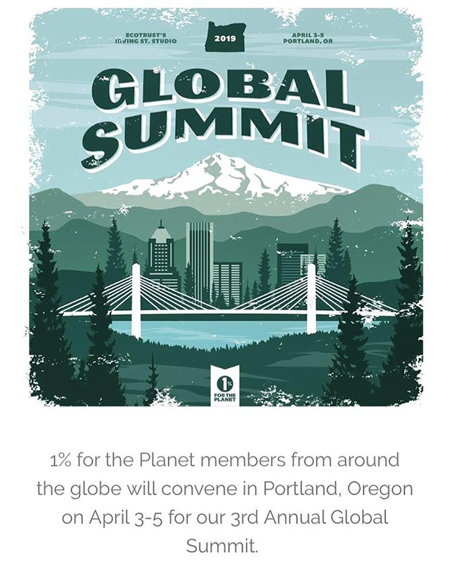 #portland friends!! We will be attending the @1percentftp Global Summit April 3-5 🤘🏼Only a few tickets left, see you there! #givebacksnacks #playhardgiveback
