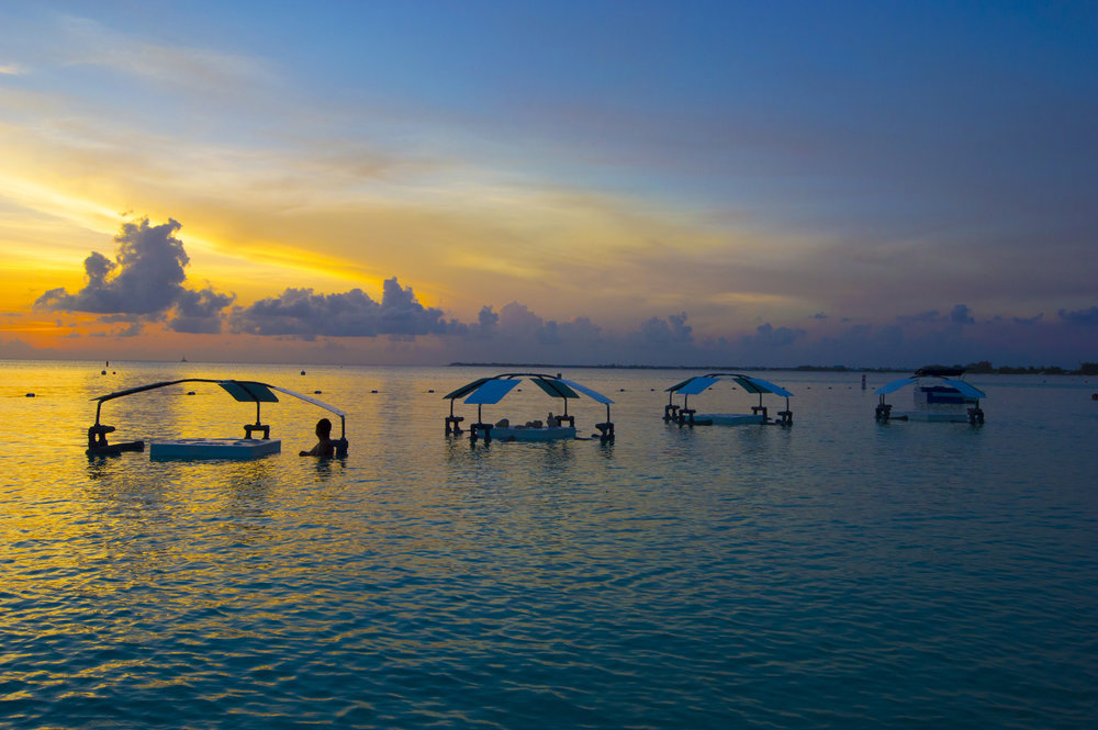 Sunset in Cayman Islands