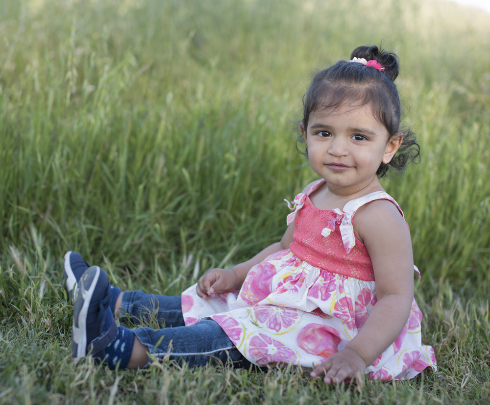 An Adorable Toddler at Santa Teresa County Park, San Jose, California