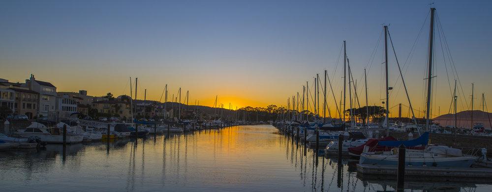 San Francisco Marina Small Craft Harbor, California
