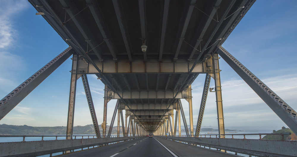 Richmond-San Rafael Bridge, California