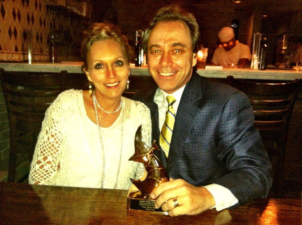 Supporting Michael at the Dove Awards Atlanta
