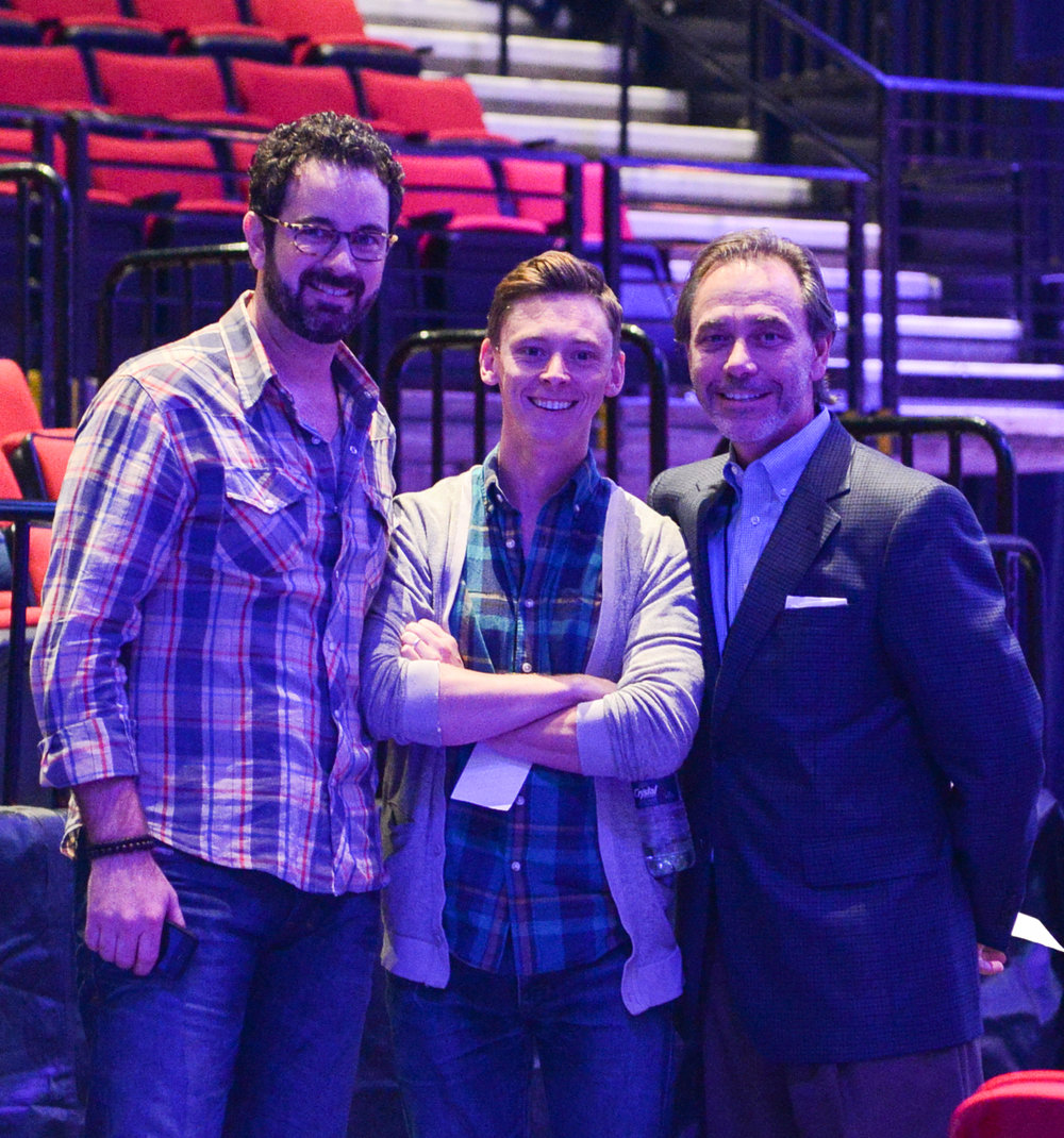 Michael, Blaine and Kurt WOF