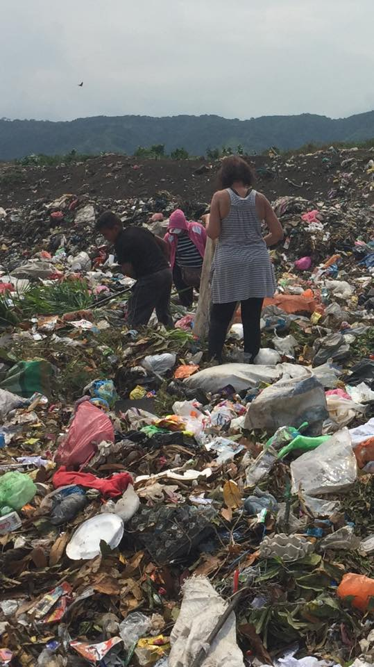 "Serving the people in Managua's ""City Dump"""