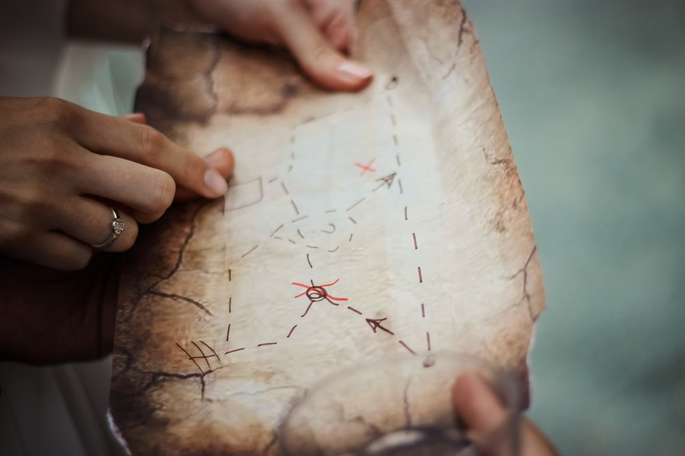 Or if your mind is more like my mind you can make a treasure map about it. Whatever works for you.