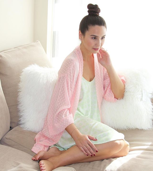 @bisousbrittany looking oh so pretty in one of our lounge sets 💛 #loungepretty #madeinnyc #shopsmall #loungewear #ootd