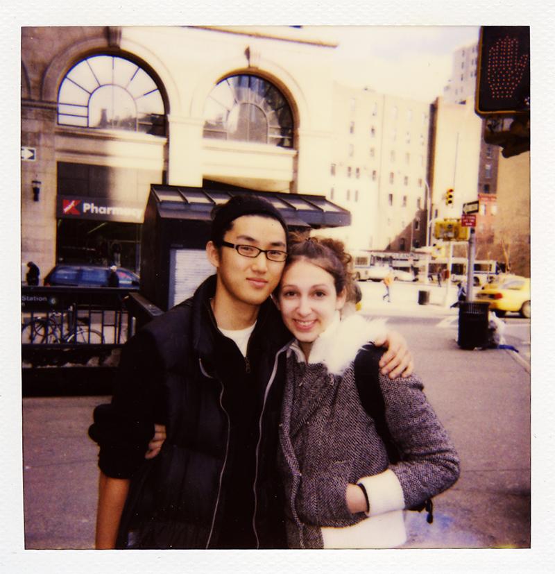 Matt and Diana, brand new New Yorkers, 2007
