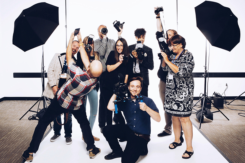 Photo by Julie Lauritsen. Photo Shoot for a Cure photographers:Will Mann, Christina Cobb, Dave Green, Diana Levine, Natasha Moustache, Brian Lauritsen, Gail Achin, Chris Valites, and filmmaker Mark Gilday Jr.