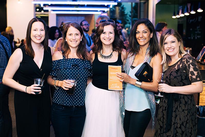 Photo by Natasha Moustache.Trisha Spillane, Whitney Parks, Joanna Mann, Krista Beerman and Lauren Ketchum
