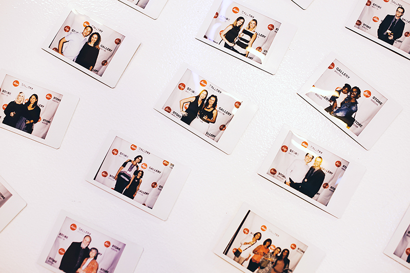 Photo by Christina Cobb.The party featured a photo booth from Leica Store Boston, using the Leica Sofort instant camera.