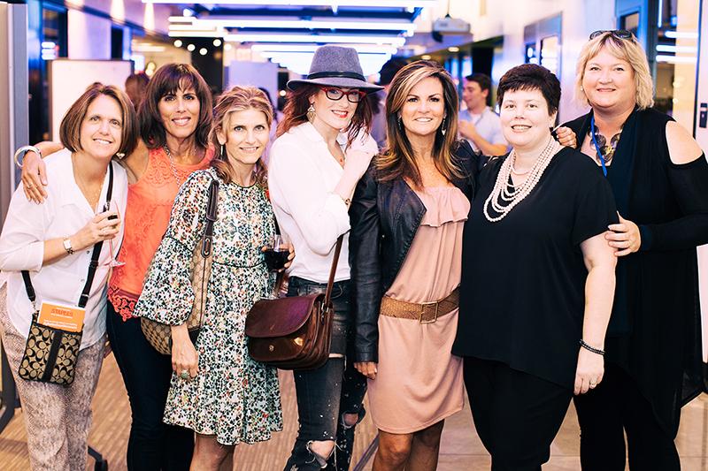 Photo by Natasha Moustache.Linda Kupstis, Linda Pacella, Paula Sylvester, Debi Gould, Susan Devlin, Julie Galgay, and Marcella Sliney