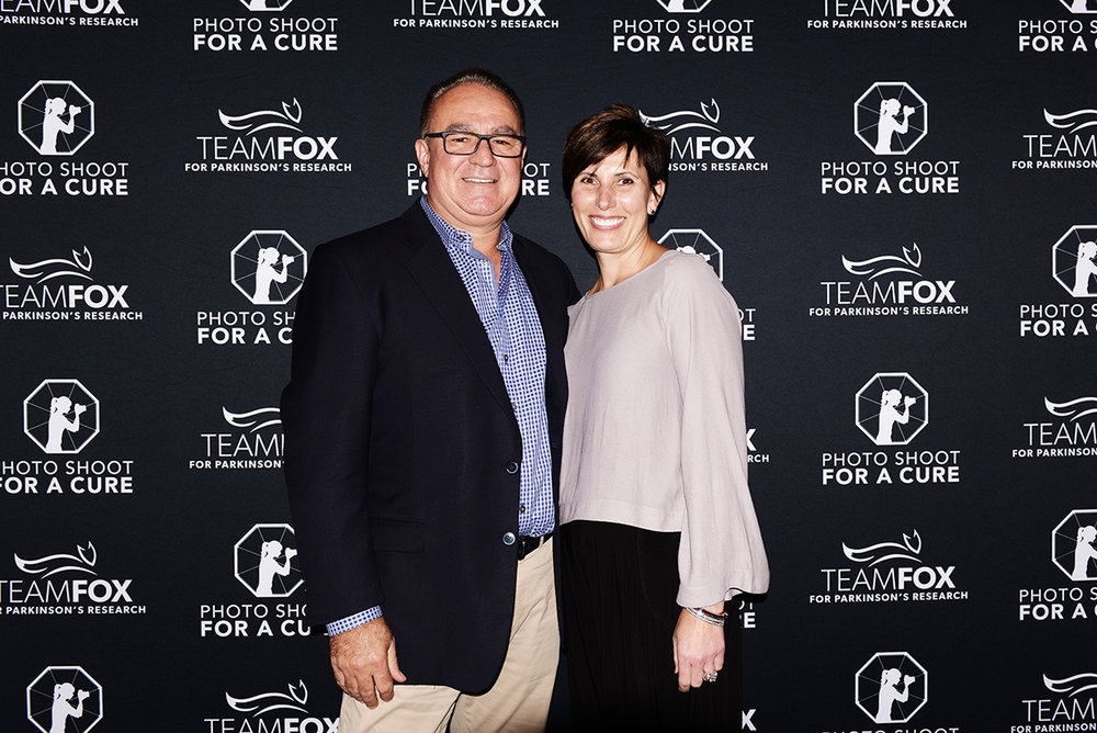Donna and Mike Rajkovic from Team Fox Detroit. Photo by Will Mann.