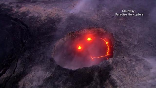 In early August, Kilauea was caught smiling. I'm pretty sure it's laughing at me ...