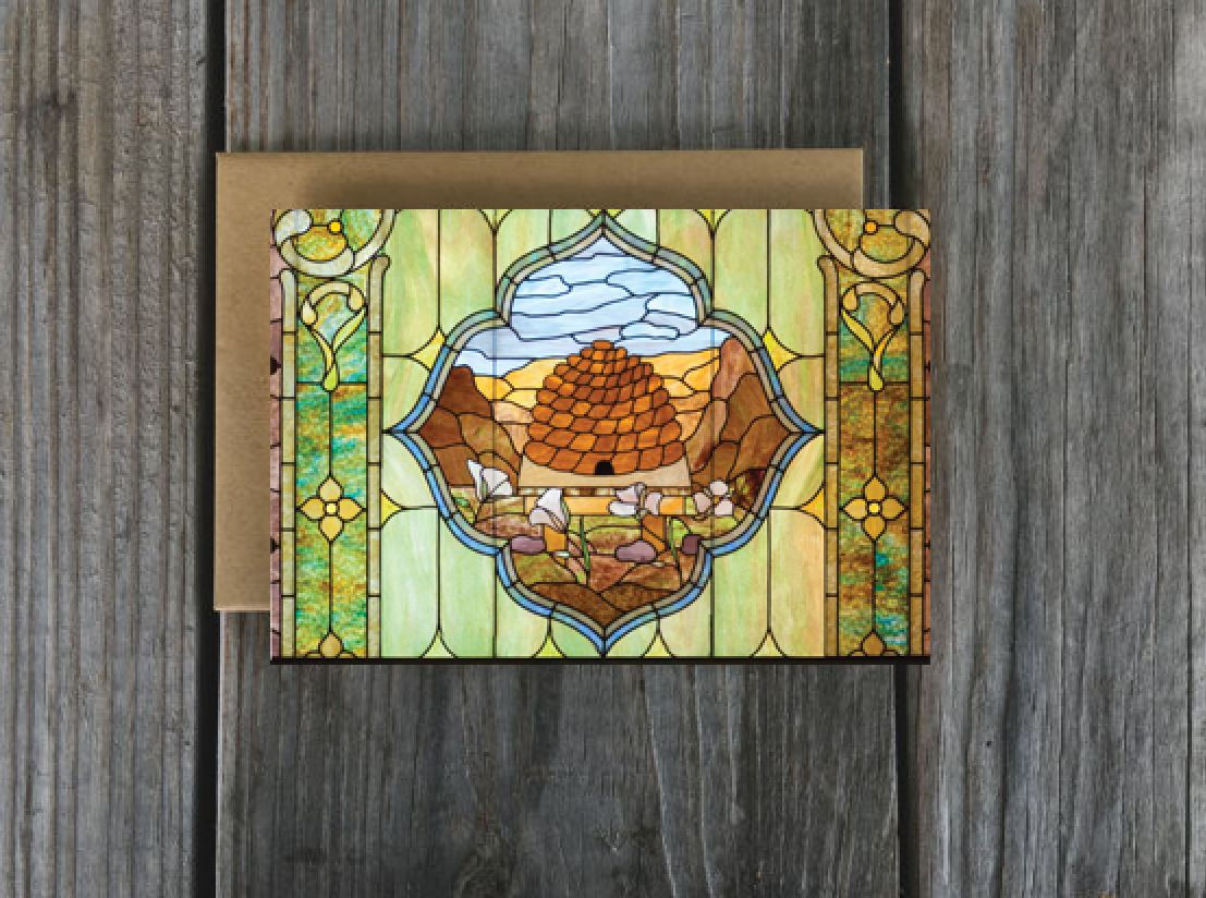 Set of lds greeting cards beehive window lds temple art and set of lds greeting cards beehive window kristyandbryce Image collections