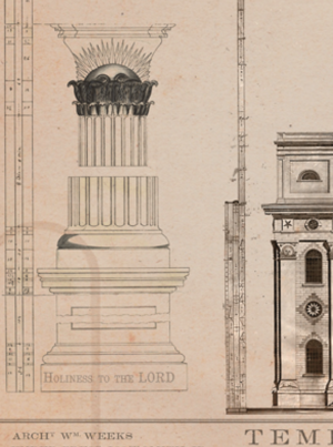 1846 nauvoo temple blueprints lds temple art and gifts from nauvoo 1846 nauvoo temple blueprints malvernweather Choice Image